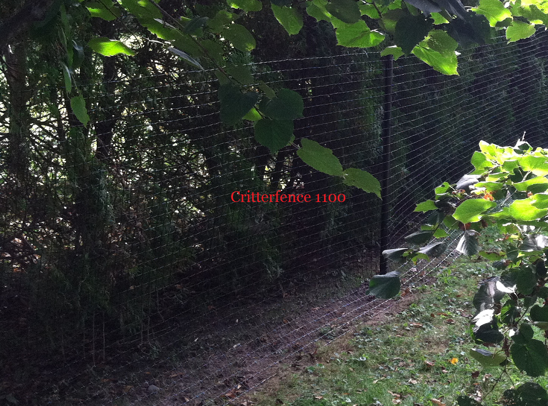 Critterfence 1100 poly fence mesh