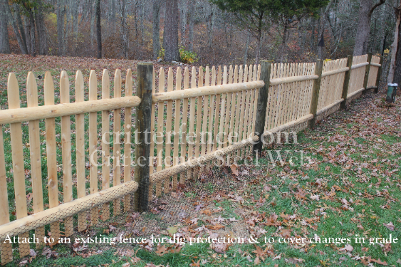 ... Metal Garden Fence ...
