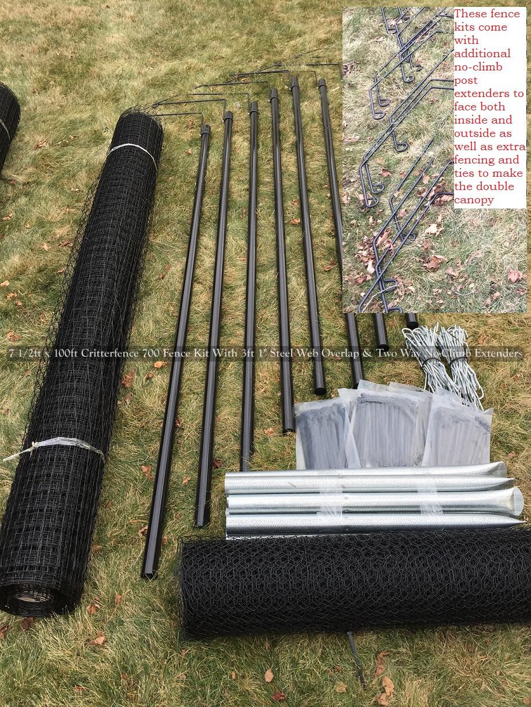 Fence Kit 2cxo1 8 X 100 Strong
