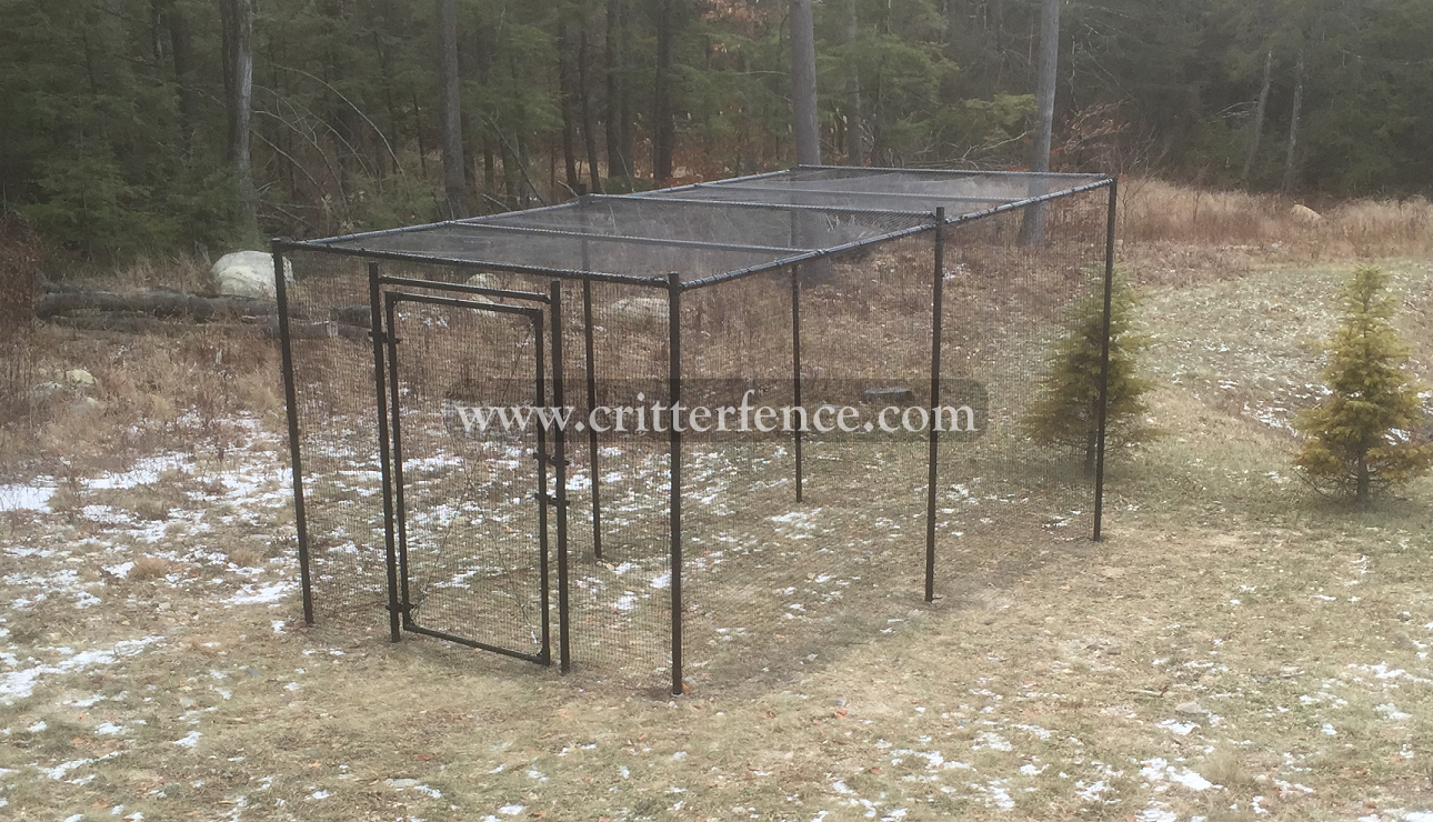 Fence Kit With Top 1 (7.5 tall x 112 Square Feet) Fence Kit Top 1 (7.5 tall x 112 Square Feet)