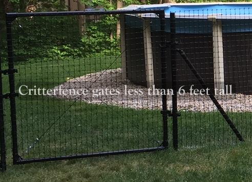 4ft Tall Access Gates