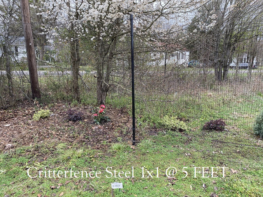 Critterfence Steel Fence 1x1