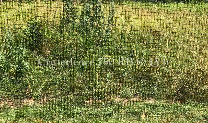 Invisible Deer Fence