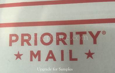 Priority mail FAST 1-3 DAY SHIPPING TIME upgrade for samples