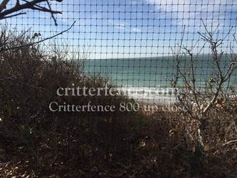 Critterfence 800 poly fence mesh
