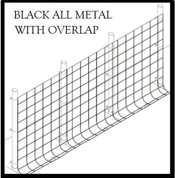 Fence Kit O48 (7.5 x 100 All Metal 1.0 Grid) - 685248509357