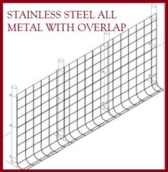 Fence Kit O50s (4 x 100 All Metal STAINLESS 1.5 Grid) NEW Fence Kit O50s (4 x 100 All Metal STAINLESS 1.5 Grid) NEW