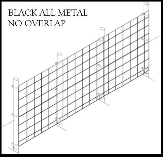 Fence Kit 36 6 X 150 All Metal