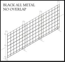 Fence Kit 39c (7.5 x 100 All Metal 1.0 Grid)