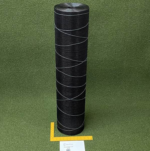 Critterfence Black Steel 1/4 Inch Square Grid 3 x 50 PALLET OF 25 NEW - 685248513484b