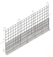 Fence Kit XO54 (4 x 100 Strongest ALL METAL)