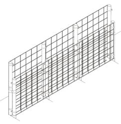 Fence Kit 1 Extend Up To 58 inches (Chain Link) Fence Kit 1 Extend Up To 5 feet (Chain Link)