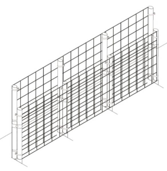 Fence Kit 5 Extend Up To 100 Inches (Chain Link) - 685248511824
