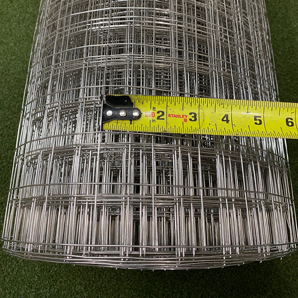 Critterfence Stainless Steel 16GA 1.5 Inch Square Grid 6 x 100 NEW - 680332611213