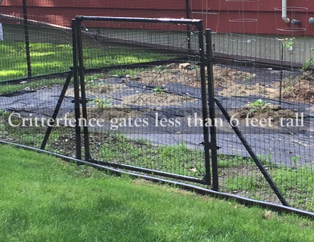 5ft tall access gates - 685248509449