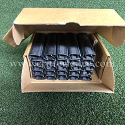 Rings for Contractor Ringer hand tool 9/16 black galvanized box of 2500 Hogrings for hogringer hand tool 9/16 black galvanized box of 2500
